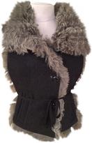 Isabel Marant Grey Fur Jacket