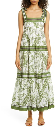 Zimmermann Stripe Cotton Sundress