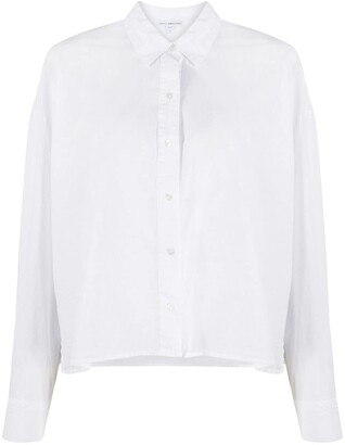 James Perse concealed button shirt