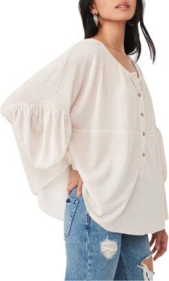 Free People Blue Bell Blouse
