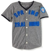 Boy's Peek Spring Training Baseball Jersey T-Shirt