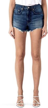 Modern American East Side Cutoff Denim Shorts