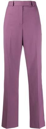 Calvin Klein high rise straight leg trousers