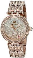 Juicy Couture Women's 1901377 Cali Analog Display Japanese Quartz Rose Gold-Tone Watch