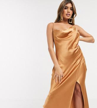 Bec & Bridge exclusive martini club split dress-Beige