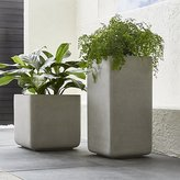 Crate & Barrel Square Planters