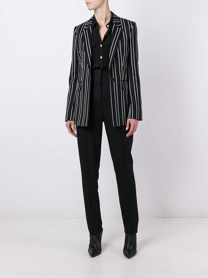 Alexandre Vauthier pleated tapered trousers
