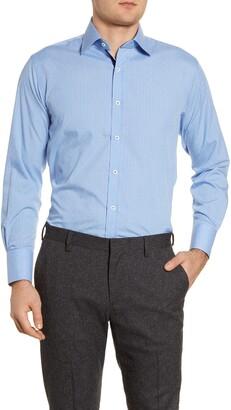 English Laundry Regular Fit Stripe Dress Shirt