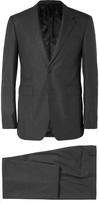 Burberry - Grey Slim-fit Wool-sharkskin Suit