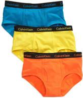 Calvin Klein Kids Underwear, Boys or Little Boys 3-Pack Briefs