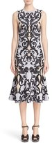 Alexander McQueen Women's Patchwork Caravan Jacquard Dress