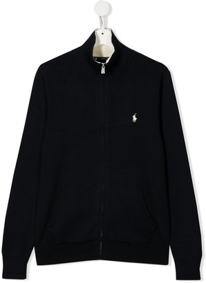 Ralph Lauren Kids TEEN zip-up cardigan