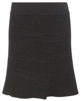 Isabel Marant Cashlin Wool And Linen-blend Skirt