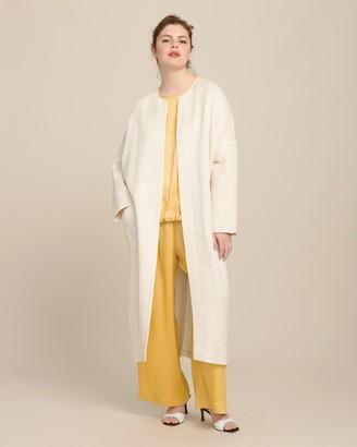 Zero Maria Cornejo Long Sleeve Koya Coat