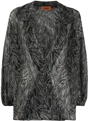 Missoni Abstract-Pattern Knit Top