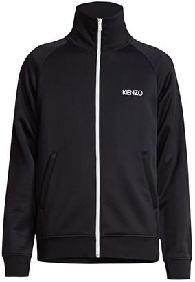Kenzo Logo Tech Jersey Track Jacket