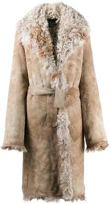 Ann Demeulemeester Reversible Fur Coat
