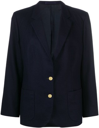 Burberry Pre-Owned 1990 Pre-Owned Single-Breasted Blazer