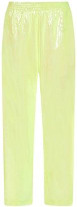 MM6 MAISON MARGIELA Wide-Leg Sequins Trousers