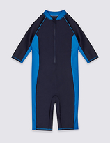 Marks and Spencer Zipped Swimsuit (3-14 Years)