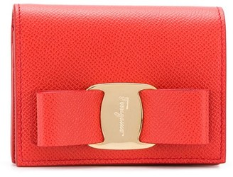 Salvatore Ferragamo Vara bow wallet