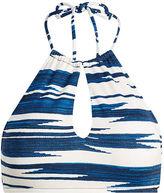 Polo Ralph Lauren Ikat-Print Halter Bikini Top