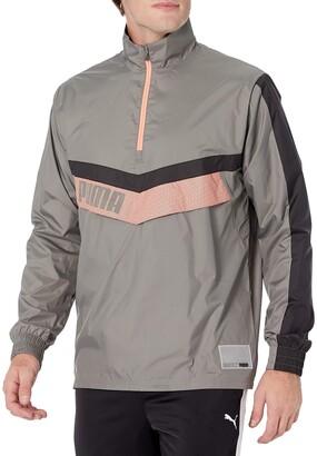 Puma Men's Woven 1/2 Zip Training Jacket