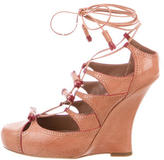 Tabitha Simmons Drusilla Lace-Up Wedges