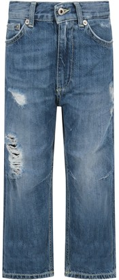 Dondup Azure skater Boy Jeans With Iconic D