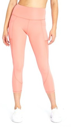 Bally Total Fitness Kimmy Mid Calf Capri Legging