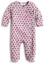 Bloomie's Infant Girls' Heart Print Footie, Sizes 3-9 Months - 100% Exclusive