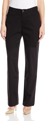 Lee Women's Tall Relaxed Fit All Day Straight Leg Pant