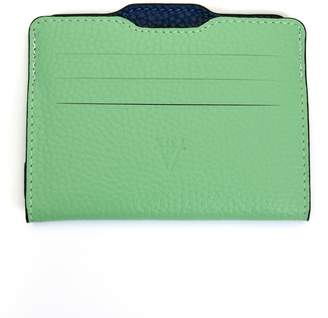 Atelier Hiva Double Card Holder Mint & Parliament