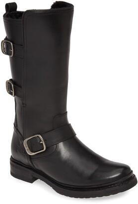 Frye Veronica Weatherproof Genuine Shearling Boot