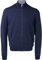 Z Zegna zip-up sweatshirt cardigan - men - Cotton/Modal/Spandex/Elastane - S