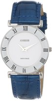 Jowissa Women's J2.011.M Roma Colori 30mm Blue Leather Roman Numeral Watch