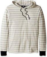 Volcom Men's Alden Hooded Long Sleeve Shirt