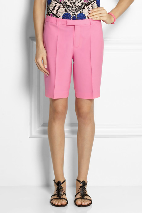 J.Crew Collection Eaton stretch-wool shorts