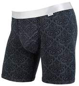 MyPakage Men's Weekday Boxer Brief Underwear Midnight Siver Back