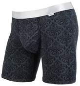 MyPakage Men's Weekday Boxer Brief Underwear Plum Turquoise Purple M