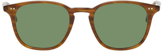 Garrett Leight Brown Clark 49 Sunglasses