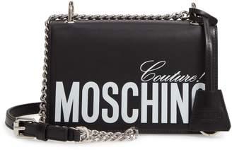 Moschino Ghost Leather Crossbody Bag