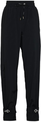 Off-White Arrow ankle strap track pants