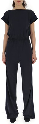 Max Mara Fitted Wide Leg Jumpsuit