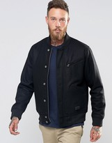 Lee Bomber Jacket Black Woolrich