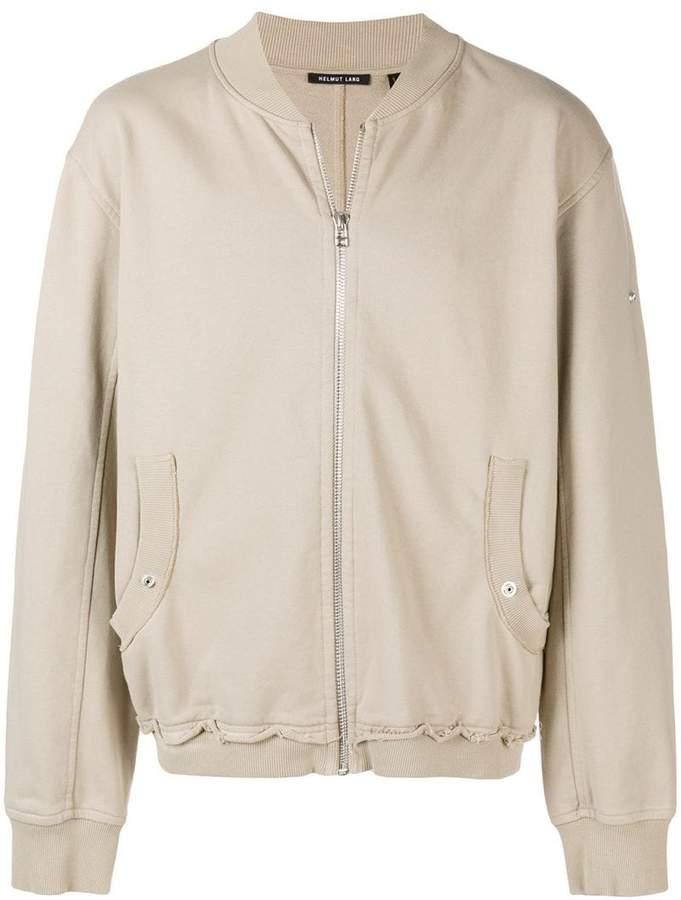 Helmut Lang lightweight zip front jacket