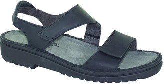 Naot Footwear Women's Enid Sandal Oily Coal Nubuck 11 M US