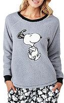 Peanuts Snoopy Microfleece Sleep Top