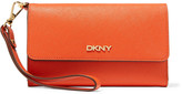 DKNY Textured-leather wallet