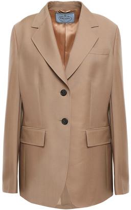 Prada Mohair And Wool-blend Blazer